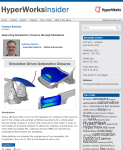May 2011 Issue of the HyperWorks Insider