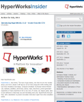 July 2011 Issue of the HyperWorks Insider